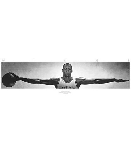 (72x23) póster de deportes de michael jordan (puerta de a