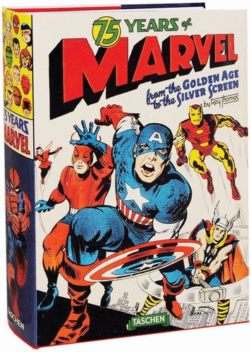75 years of marvel / roy thomas (envío gratuito)