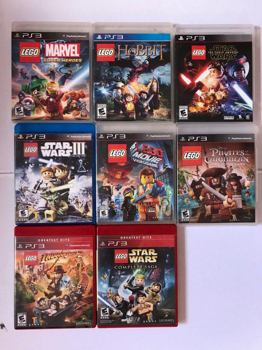 8 Juegos Lego Ps3 Originales Combo O Individual 650 00 En