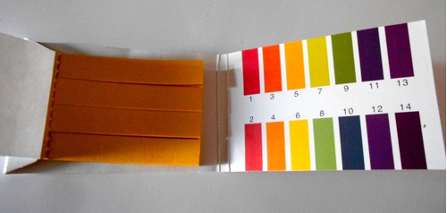 80 tiras de papel para medir ph rango 1-14