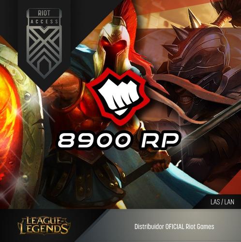 8900 riot points las league of legends lol