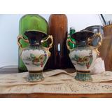 Antiguos Adornos Estética Japonesa Porcelana