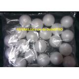 Esferas, Bolas, Pelotas, De Espuma Plast - Telgopor, De 2 Cm