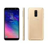 Celular Samsung A6 Plus A605/ds Gold + Regalo