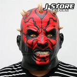 Mascara Latex Darth Maul Star Wars - Cosplay - Halloween