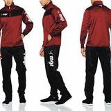 Equipos Largos Polyester + Logo Talle Adulto - Mgr Sport