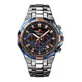 Reloj Casio Edifice Efr 539 - Azul Y Negro - Original