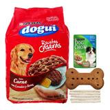 Comida Perro Dogui 24 Kg + Snacks + Pouch + Envío Gratis