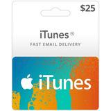Promo-tarjeta Digital Itunes 25 Usd (cuentas Eeuu)-mercadouy