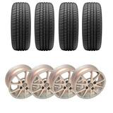 4 Llantas + Neumáticos 165/70 R 13 Sumitomo Chevrolet Celta