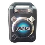 Radio Parlante Bluetooth-usb-fm-am Incluye Microfono