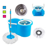 Mopa Giratoria 360 Acero Inox Spin Mop Trapeador Microfibra