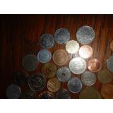 Lote De Monedas Mundiales 4 Continentes