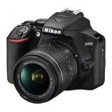 Cámara Nikon D3500 24mp Con Lente Vr 18-55mm Oferta Nnet