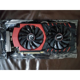 Msi Nvidia Geforce Gtx 970 Gaming 4g Vendo O Permuto.