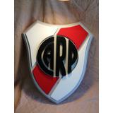 River Plate Argentina Cartel En 3d !!! 45 X 40 Cm