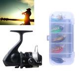 Para Deporte Pesca Carrete Hengjia Setjl200 Box014 Spi Pphn