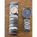 Reloj Calvin Klein Y Otro Casio Originales