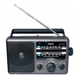 Radio De Mesa Microsonic Am- Fm Corriente Pilas Audio