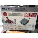 Router Belkin Wireless G Enrutador