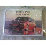 Manual De Propietario Auto Citroen Saxo