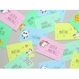 Etiquetas Autoadhesivas Personalizadas Infantiles Escolares