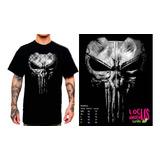 Remeras Camisetas The Punisher Marvel Serigrafia Calavera