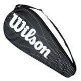 Funda Wilson Para Raqueta De Ténis Individual Con Cierre