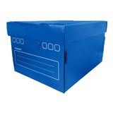 Caja Archivadora Plástico Corrugado 42 X 32 X 25,5 Cm
