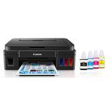 Impresora Canon G3100 Con Wifi Y Tinta Continua