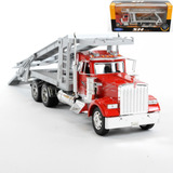 Camion Kenworth W900 Car Carrier Coleccion Welly 1:32 St