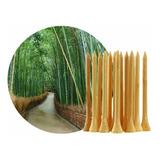 20 Tees Golf Pelotas 54mm 70mm (madera Bamboo)