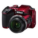 Cámara Digital Nikon Coolpix B500 Curso Fot Universo Binario