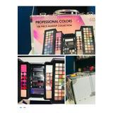 Maletin De Maquillaje Profesional Con Colores