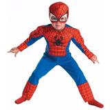 Disfraz De Spiderman Con Músculos !! De 3 A 6 Años!!