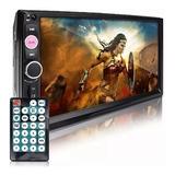 Autoradio 2din Dvd Multimedia Bluetooth Usb Sd 7 Hd Usb Fm