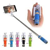 Mini Monopod Selfie Stick Con Cable Y Boton Disparador ®