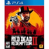 Red Dead Redemption 2 + Plus 12 Meses ¡excelente Oferta! Ps4