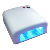 Lampara Uv Secador Pro De Uñas En Gel Ultravioleta Secado