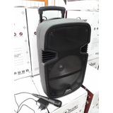 Parlante Portátil Con Bluetooth 12 A Batería