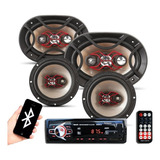 Combo Radio Auto Bluetooth Bravox 6 + 6x9
