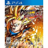 Dragon Ball Fighterz Juego Ps4 Original + Garantía + Español