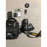 Cámara Nikon D5300 Muy Bien Cuidada