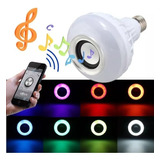Lámpara Led Con Parlante Bluetooth Colores!!!!