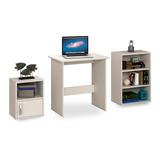 Escritorio - Mesa De Pc - Oficina - Estantería + Biblioteca