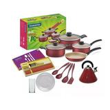 Kit De Cocina Ollas Completo 53 Piezas Bateria Tramontina
