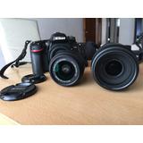 Camara Nikon D7100 + Lente 18-55 + Carcasa Acuática