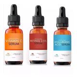 Retinol + Ácido Hialuronico + Vitaminac
