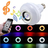 Lámpara Led Con Parlante Bluetooth Colores, Envió Gratis!!