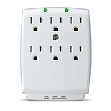 Belkin 6 Outlet Surgemaster Wall Mount Surge Protector